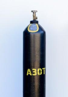 Баллон для азота технического 40 л, ГОСТ 949-73