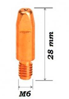 Наконечник М6-1,2 L=28 мм ECU